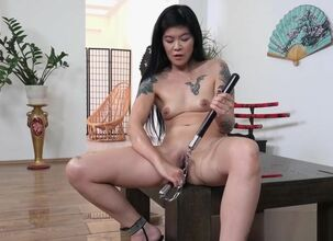 Asian monster dildo