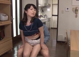 Horny japanese wife