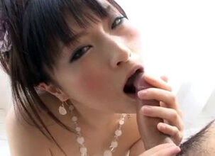 Japanese girlfriend blowjob