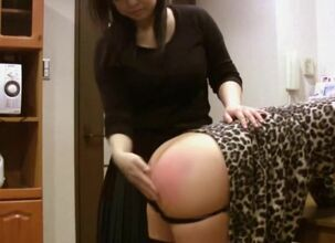 Asian spanked