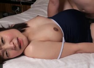 Pregnant asian anal